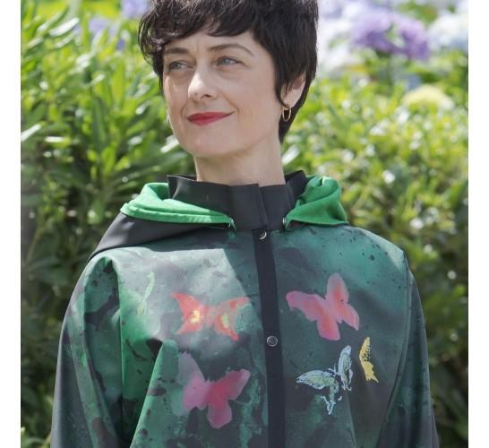 Rain Jacket Butterfly