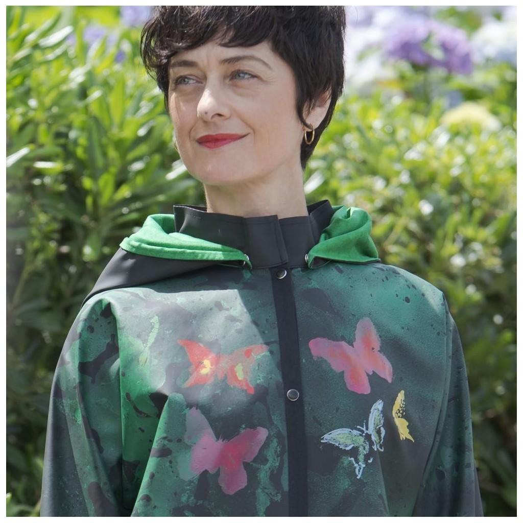 5ddb9b0c1 Rain Jacket Butterfly